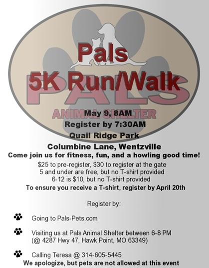 5K Run&Walk - PALS